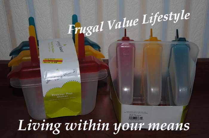 Frugal Value Lifestyle Frozen Pop Molds 1