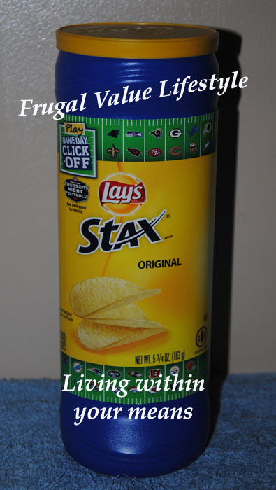 Choosing the healthier option with a cost savings over the coupon option. Pringles vs. Lays