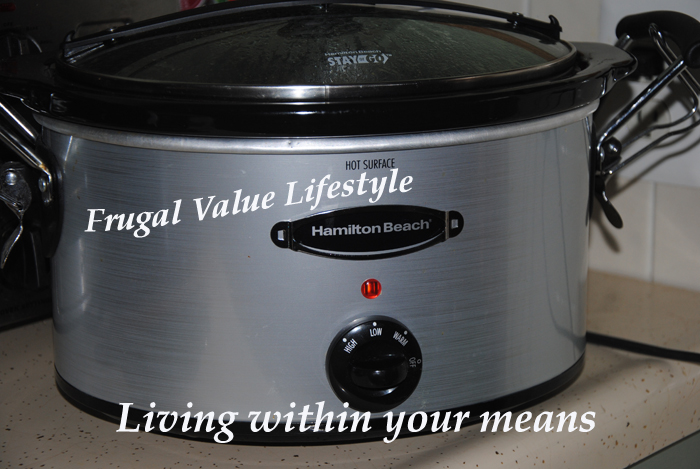 Frugal Value Lifestyle Slow Cooking